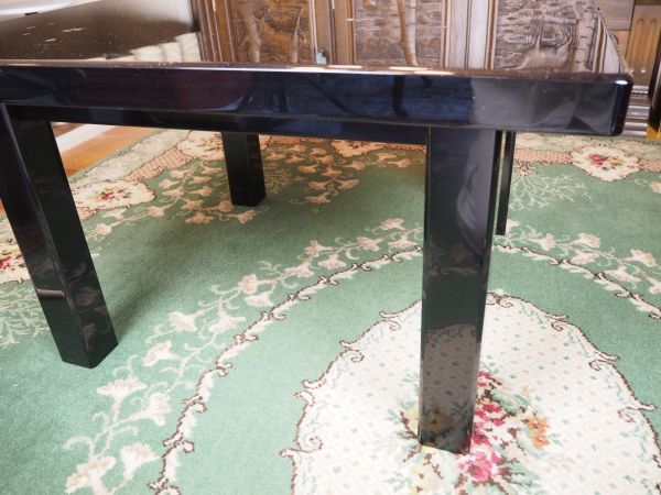 ☆漆塗 テーブル ☆桜 ☆漆 ☆小さめのテーブル ☆綺麗な桜の花びら模様_画像5