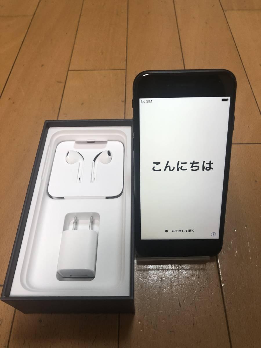 微ジャンク品 使用期間1日! iPhone8 64GB スペースグレー AppleCare加入品!
