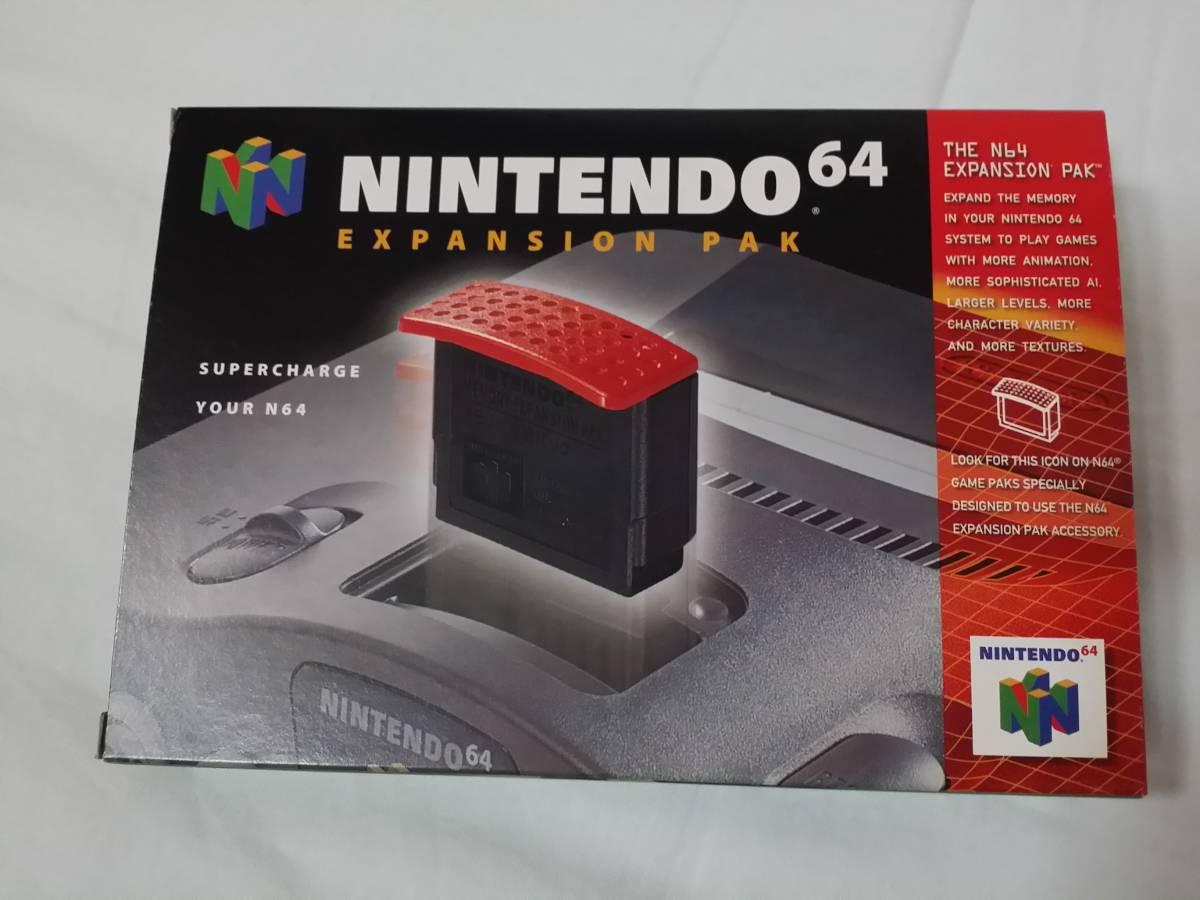 N64 海外版 Expansion Pak Memory Pack メモリー拡張パック ハイレゾパック nus-007 nus-012 箱説付き 北米版_画像1