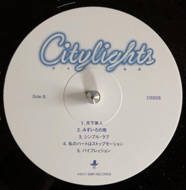 【LP 12inch】人気盤!CITYLIGHTS 田中裕梨 CITYPOP 和モノDJ 真夜中のドア_画像2