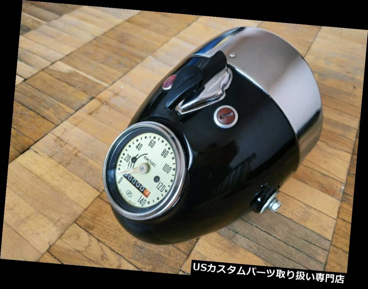 USヘッドライト ヘッドライトバイクUral Vintage Triumph K750ウラルカフェボバーBMWスタイル_画像1