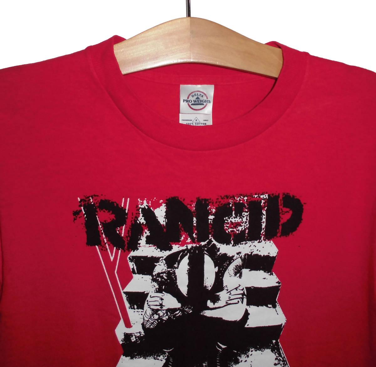 ●美品◆サマソニ2019出演 RANCID ランシド オフィシャル and out come the wolves Tシャツ S バンドT_画像2