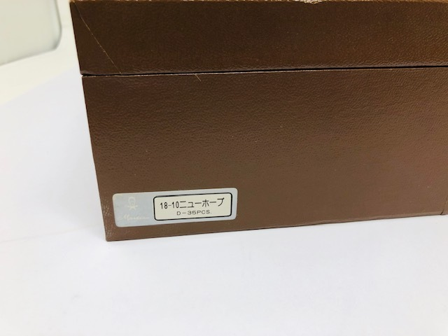 未使用 Martion/マーシャン カトラリー ディナーセット オリジナルコレクション 18-10 STAINLESS_画像6