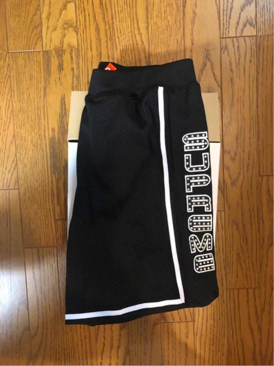 Sサイズ Rhinestone Basketball Short バスケットボール ショーツ SUPREME シュプリーム Black ブラック 黒 S logo box buju banton logo_画像3