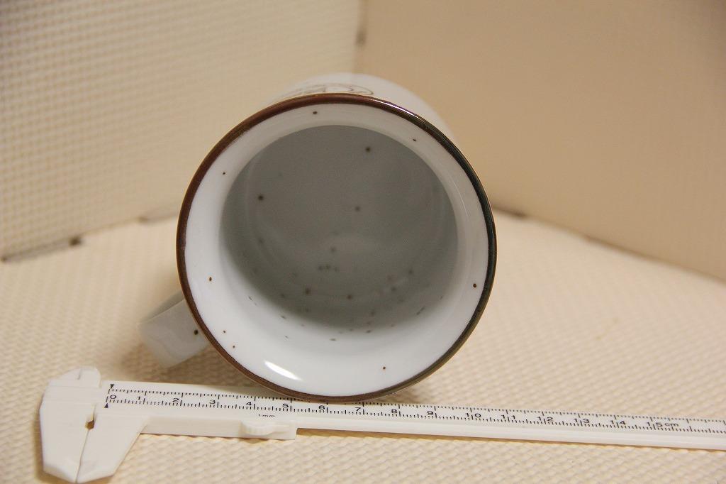 陶器製 ミスタードーナツ ロゴ マグカップ 検索 マーク ミスド マグ コップ ミスタードーナッツ 非売品 ノベルティ グッズ_画像3