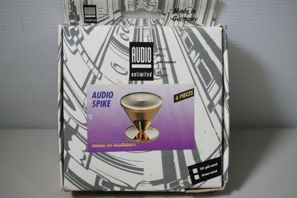A177806F】AUDIO unlimited オーディオスパイク ドイツ製 パイオニア正規輸入品