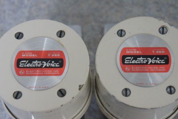 A184606G] Electro-Voice エレクトロボイス T350 ホーン型 ツィーターペア EV_画像5