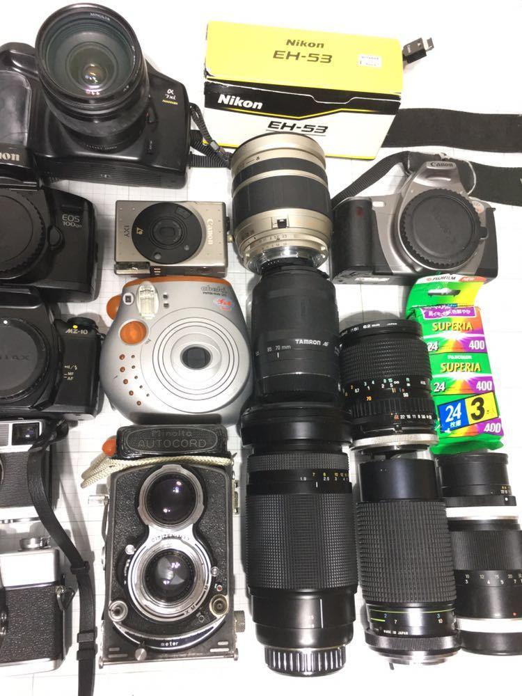ミノルタ オートコード オリンパス 35 miミノルタ α7zi チェキ コンパクトカメラ その他 まとめ セット 動作未確認 ジャンク_画像7