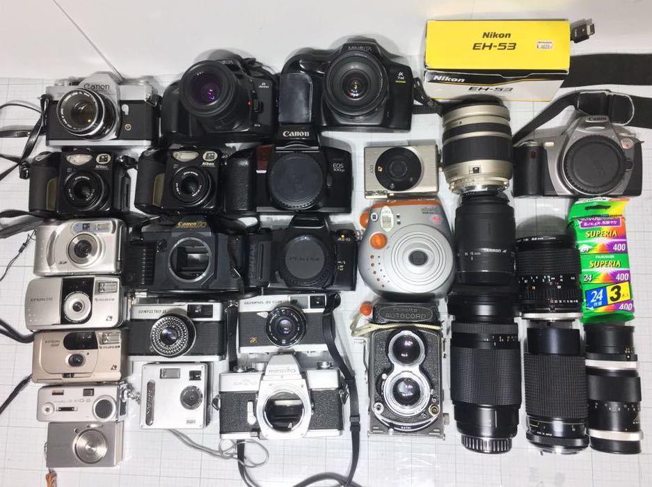 ミノルタ オートコード オリンパス 35 miミノルタ α7zi チェキ コンパクトカメラ その他 まとめ セット 動作未確認 ジャンク