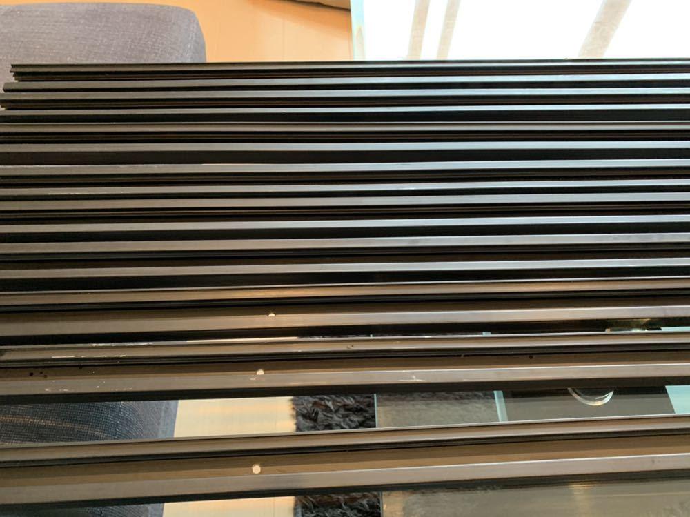 【2m×9本セット】ナショナル・ダクトレール・黒色(ライティングレール)【DH0222】National15A-125V 中古品です。_画像6