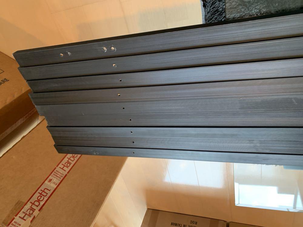 【2m×9本セット】ナショナル・ダクトレール・黒色(ライティングレール)【DH0222】National15A-125V 中古品です。_画像8