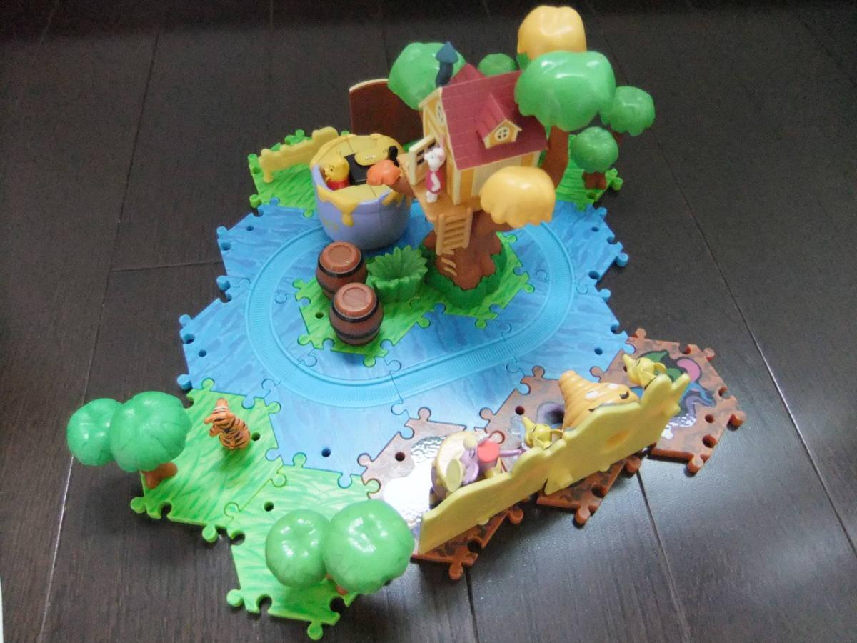 ディズニーランド ジオラマップ プーさんのハニーハント ファンタジーランド ミニチュア おもちゃ ジオラママップ ティガー ピグレット_画像4