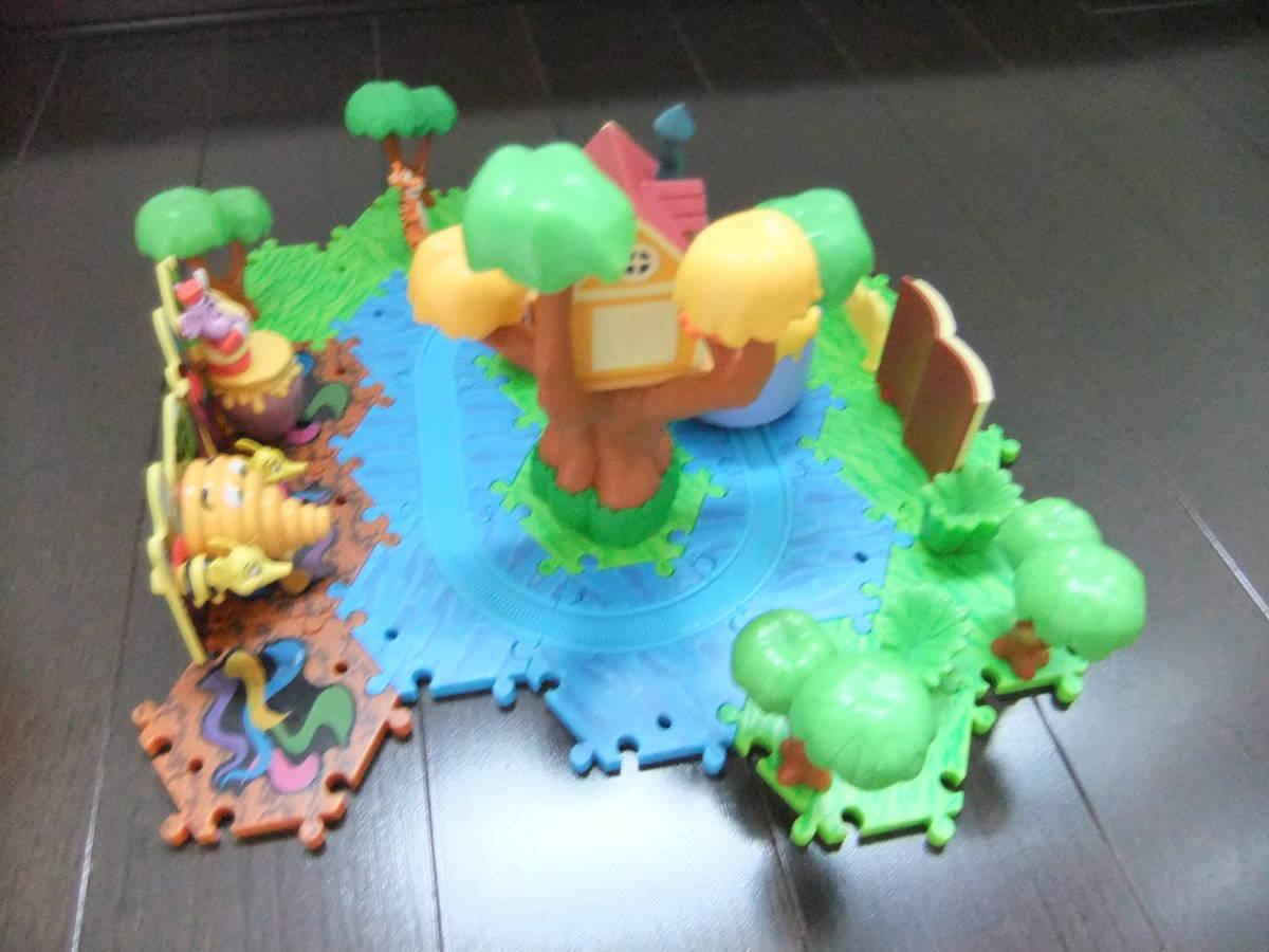 ディズニーランド ジオラマップ プーさんのハニーハント ファンタジーランド ミニチュア おもちゃ ジオラママップ ティガー ピグレット_画像5