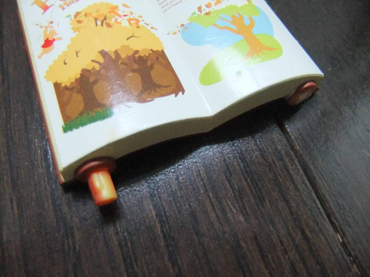 ディズニーランド ジオラマップ プーさんのハニーハント ファンタジーランド ミニチュア おもちゃ ジオラママップ ティガー ピグレット_折れている個所です