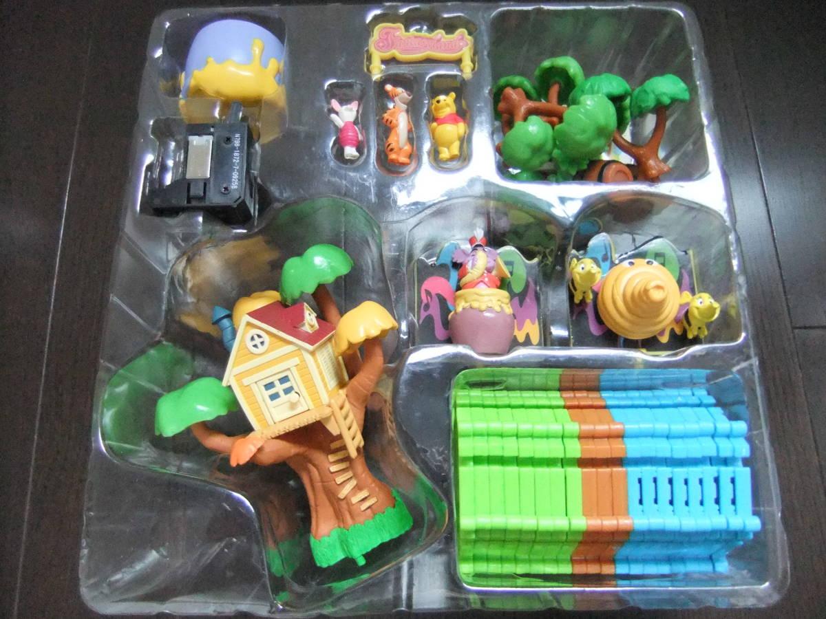 ディズニーランド ジオラマップ プーさんのハニーハント ファンタジーランド ミニチュア おもちゃ ジオラママップ ティガー ピグレット_画像7