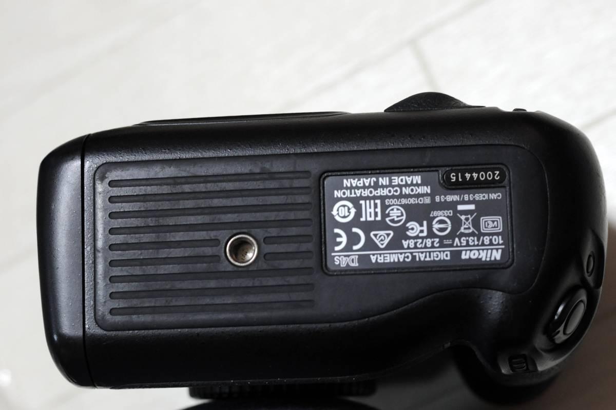 【落下品】ニコン Nikon D4S ボディ ショット数 少_画像6