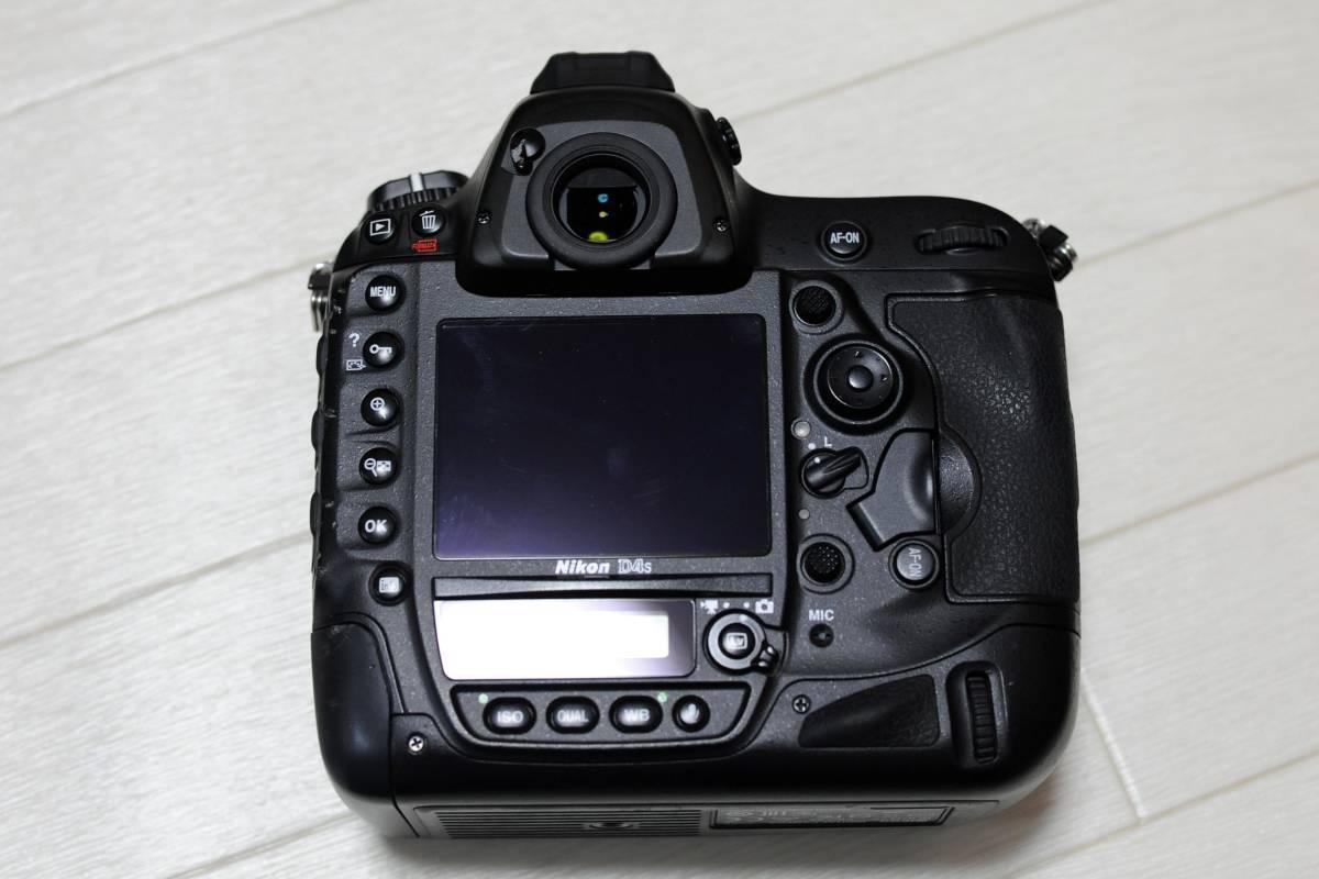 【落下品】ニコン Nikon D4S ボディ ショット数 少_画像3