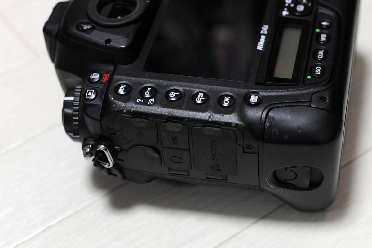 【落下品】ニコン Nikon D4S ボディ ショット数 少_画像5