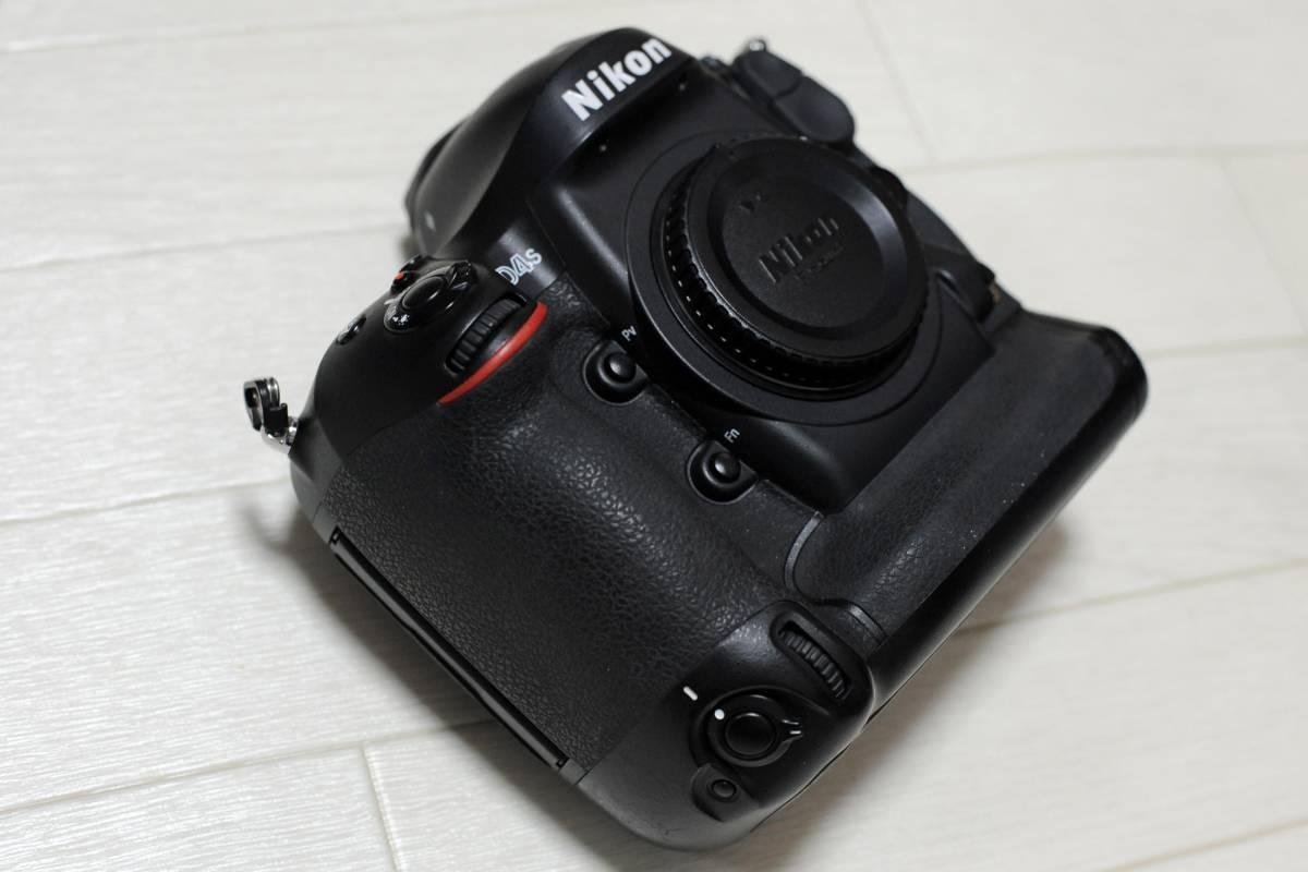 【落下品】ニコン Nikon D4S ボディ ショット数 少_画像4