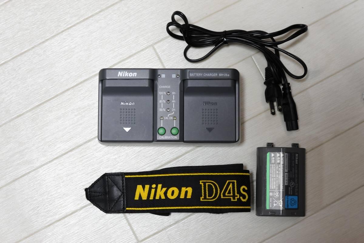 【落下品】ニコン Nikon D4S ボディ ショット数 少_画像8