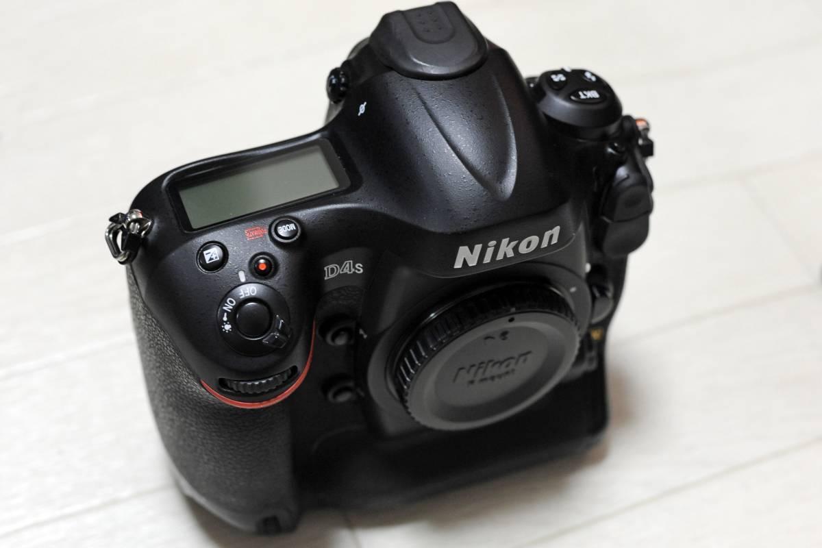 【落下品】ニコン Nikon D4S ボディ ショット数 少