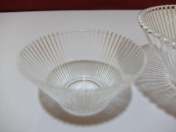 H11●クリスタルガラス ガラス鉢 大鉢小鉢 合わせて20客 お買い得 そうめん ひやむぎ 和え物 つけめん デザート ボール_画像4