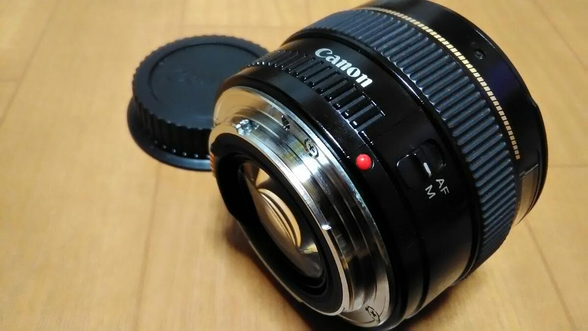 CANON LENS EF 50mm 1:1,4 ULTRASONIC キャノン 中古_画像5