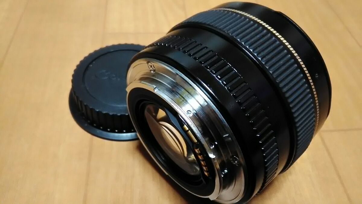 CANON LENS EF 50mm 1:1,4 ULTRASONIC キャノン 中古_画像6