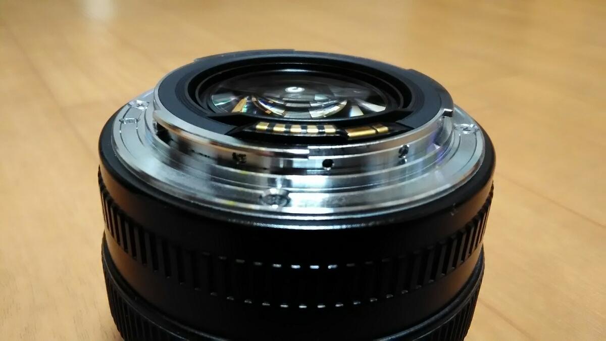 CANON LENS EF 50mm 1:1,4 ULTRASONIC キャノン 中古_画像10