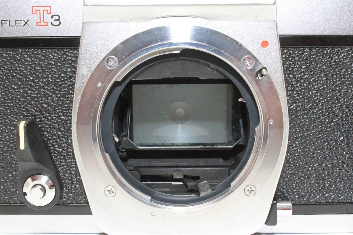 ☆カメラ祭☆ 昭和レトロ 貴重 稀少 珍品 コニカ KONICA オートリフレックス T3 コニカヘキサノン AR 50mm F1.7_画像9