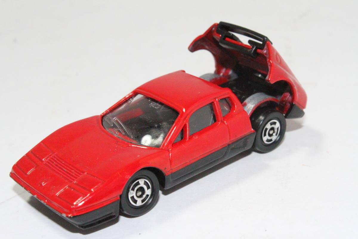 ☆ミニカー祭☆ トミカ 外国車シリーズ フェラーリ BB 512 SCALE 1/62 F57 日本製 青箱_画像6