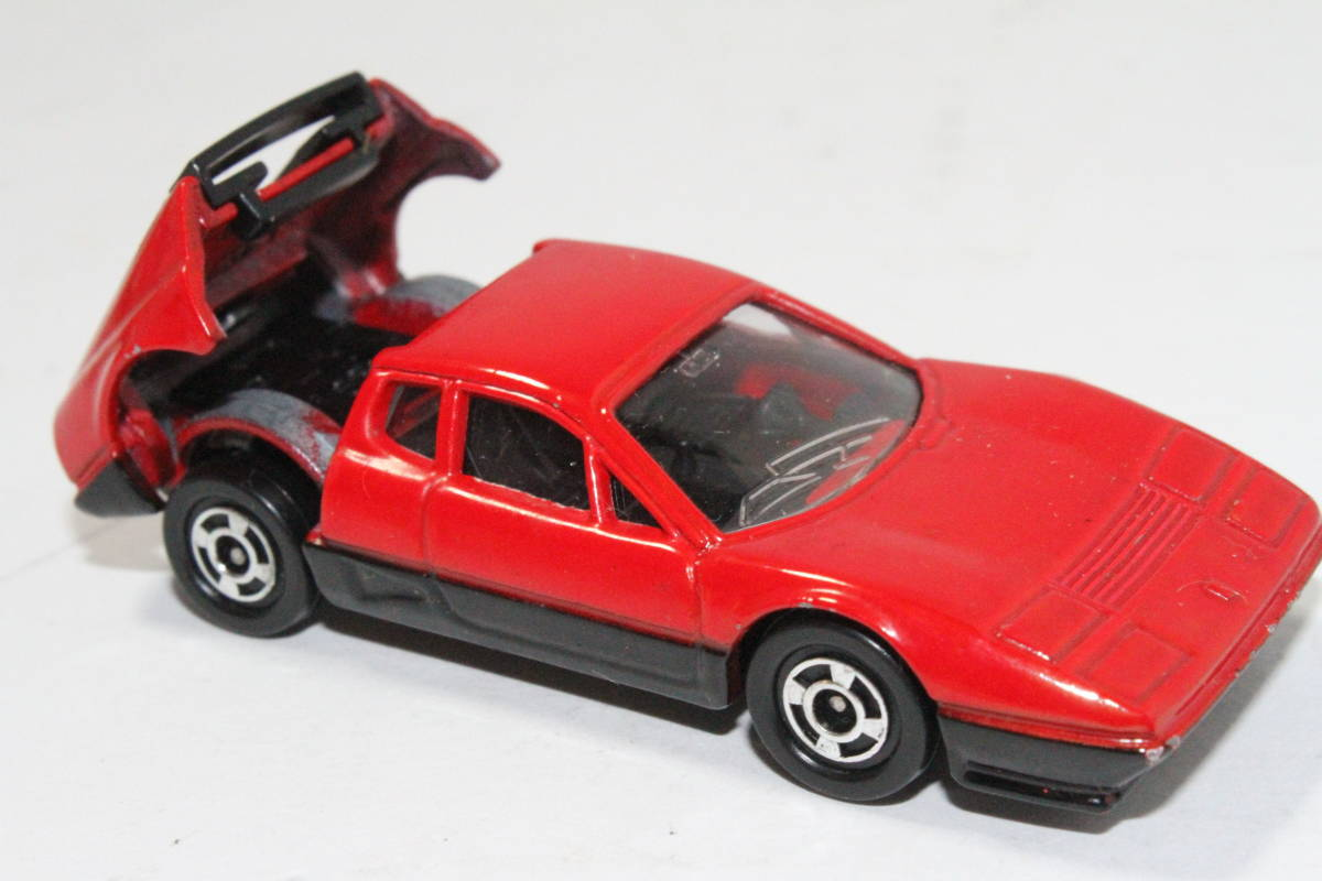 ☆ミニカー祭☆ トミカ 外国車シリーズ フェラーリ BB 512 SCALE 1/62 F57 日本製 青箱_画像7