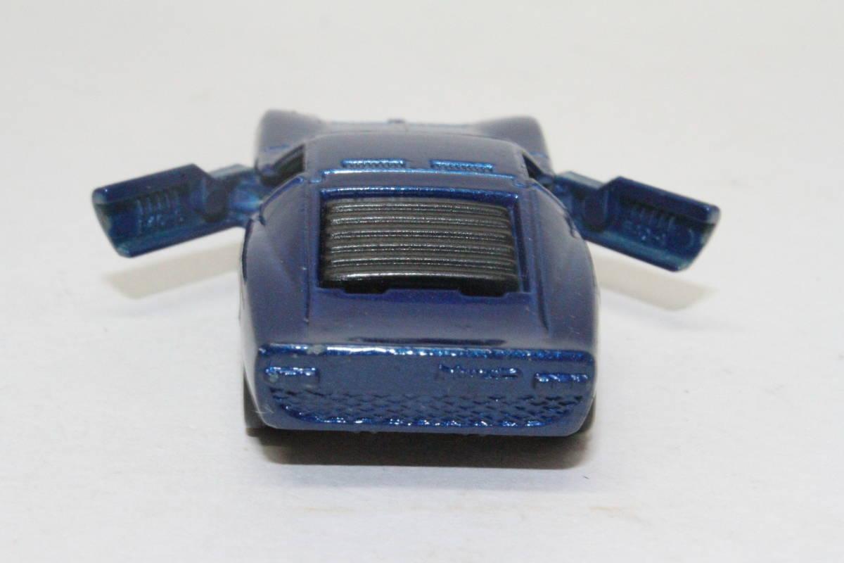☆ミニカー祭☆ トミカ 外国車シリーズ ランボルギーニ ミウラ SV SCALE 1/62 F40 日本製 青箱_画像7