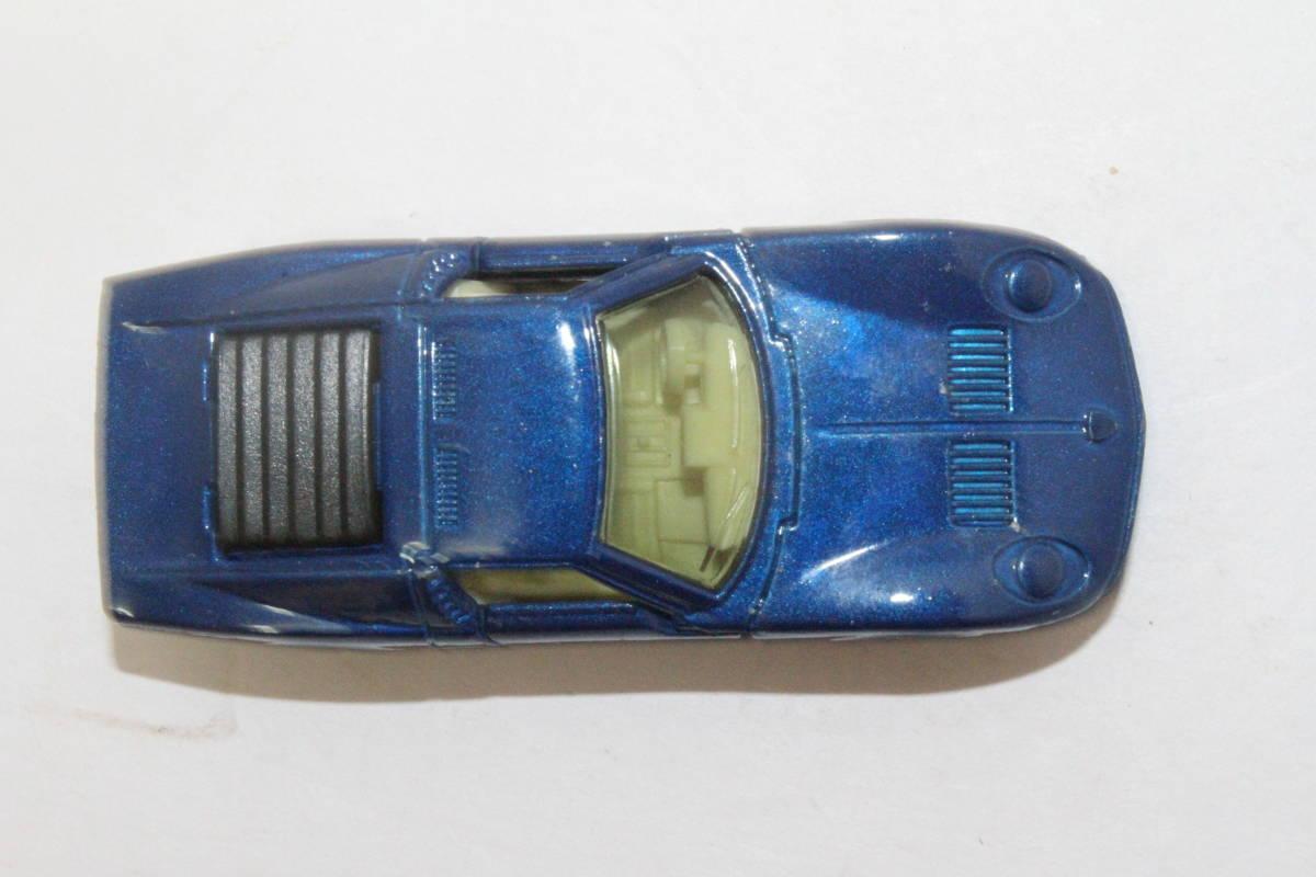 ☆ミニカー祭☆ トミカ 外国車シリーズ ランボルギーニ ミウラ SV SCALE 1/62 F40 日本製 青箱_画像8