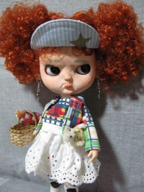 ●Icy Doll Custom ●再出品です・アイシードーカスタム・怒りんぼさん・・・♪