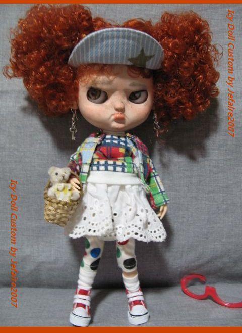 ●Icy Doll Custom ●再出品です・アイシードーカスタム・怒りんぼさん・・・♪_画像8