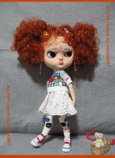 ●Icy Doll Custom ●再出品です・アイシードーカスタム・怒りんぼさん・・・♪_画像6