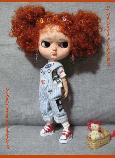 ●Icy Doll Custom ●再出品です・アイシードーカスタム・怒りんぼさん・・・♪_画像4