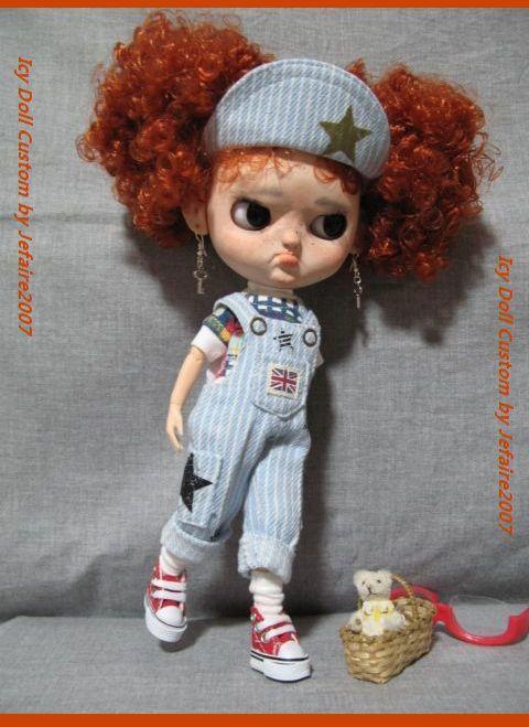 ●Icy Doll Custom ●再出品です・アイシードーカスタム・怒りんぼさん・・・♪_画像7