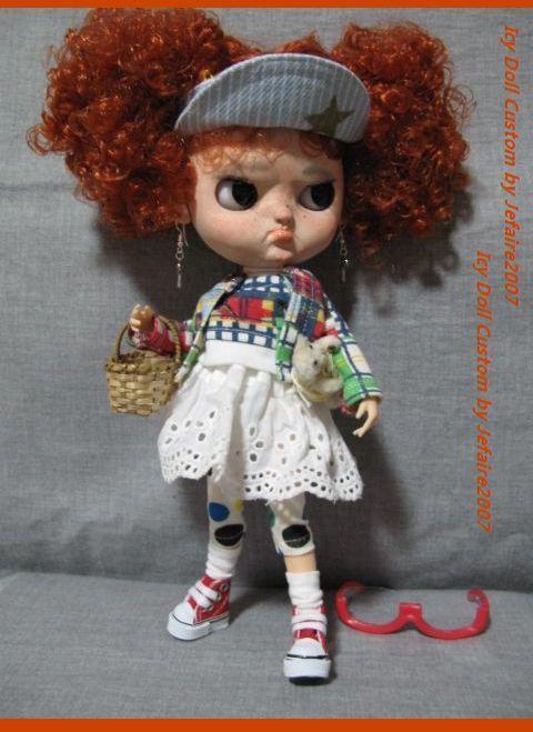 ●Icy Doll Custom ●再出品です・アイシードーカスタム・怒りんぼさん・・・♪_画像5