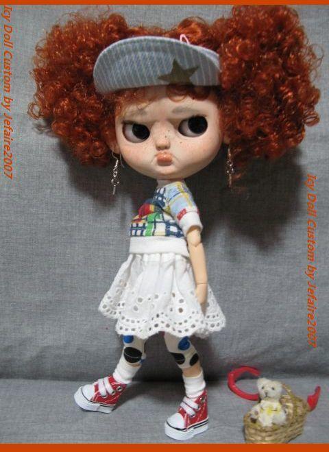 ●Icy Doll Custom ●再出品です・アイシードーカスタム・怒りんぼさん・・・♪_画像10