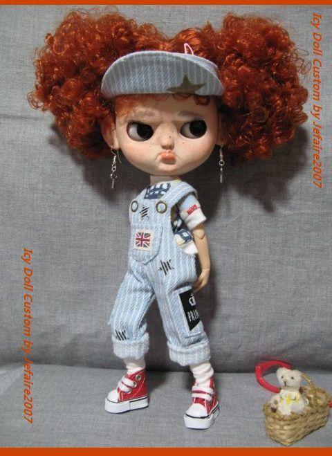 ●Icy Doll Custom ●再出品です・アイシードーカスタム・怒りんぼさん・・・♪_画像2