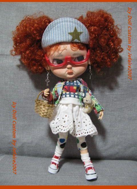 ●Icy Doll Custom ●再出品です・アイシードーカスタム・怒りんぼさん・・・♪_画像3