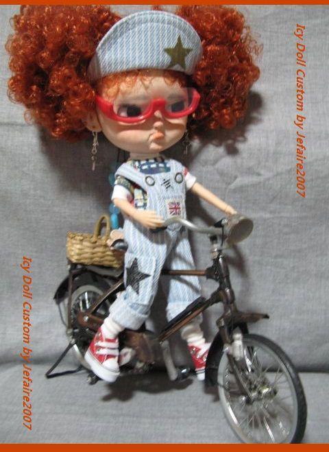 ●Icy Doll Custom ●再出品です・アイシードーカスタム・怒りんぼさん・・・♪_画像9