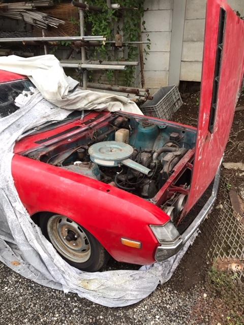 売り切り トヨタ セリカ ダルマ TA22 書類付きフレーム及び部品取りフレーム 2台セット 旧車 _画像2