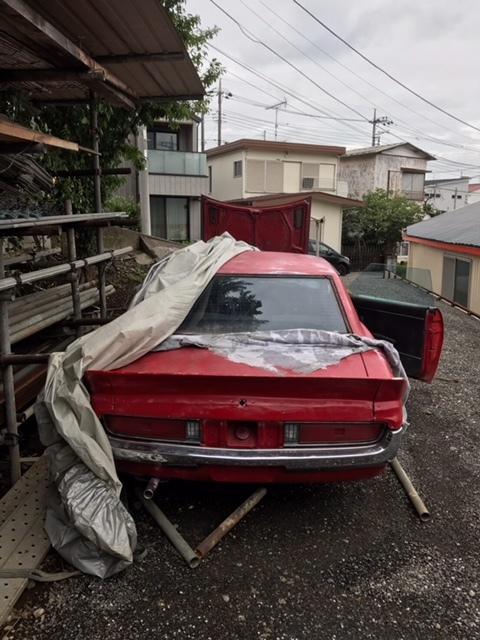 売り切り トヨタ セリカ ダルマ TA22 書類付きフレーム及び部品取りフレーム 2台セット 旧車 _画像3