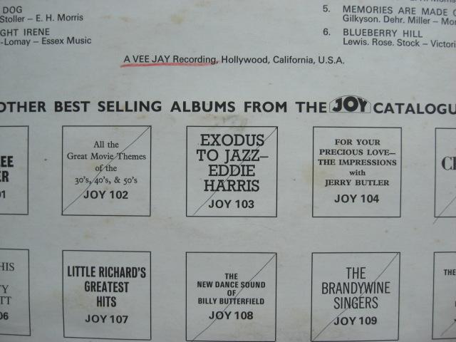 *【LP】Little Richard/Little Richard Is Back(JOY100)(輸入盤)_画像6