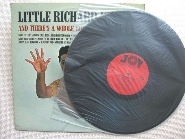 *【LP】Little Richard/Little Richard Is Back(JOY100)(輸入盤)_画像3
