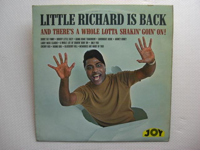 *【LP】Little Richard/Little Richard Is Back(JOY100)(輸入盤)_画像1