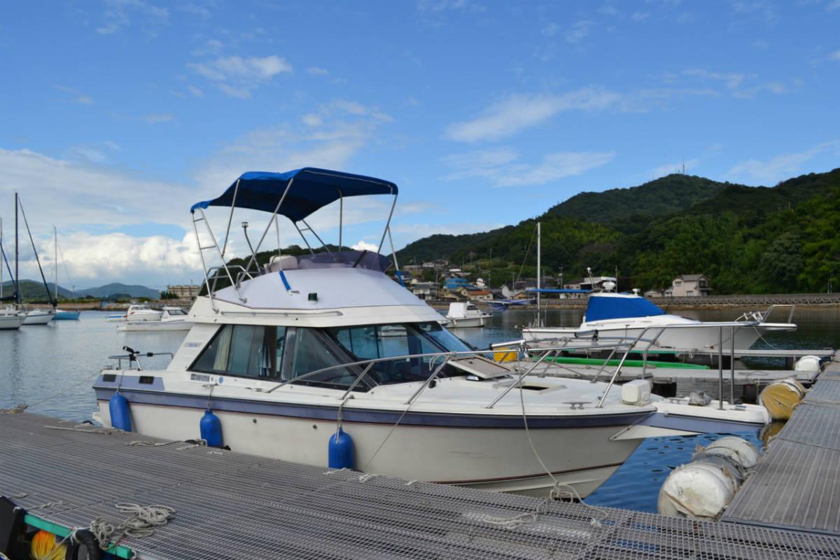 ヤマハSR25 継続係留相談可 船底シートもお付けします。_画像2
